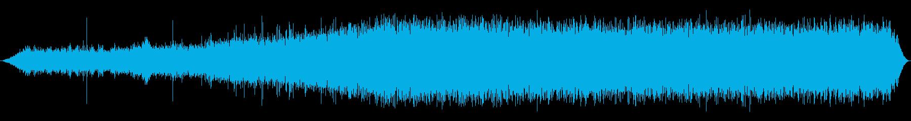 LEARJET 55:INT:離陸...の再生済みの波形