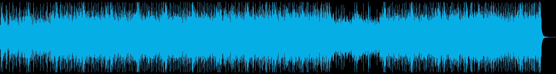 和楽器・和風・サムライロック:琴尺八ぬきの再生済みの波形