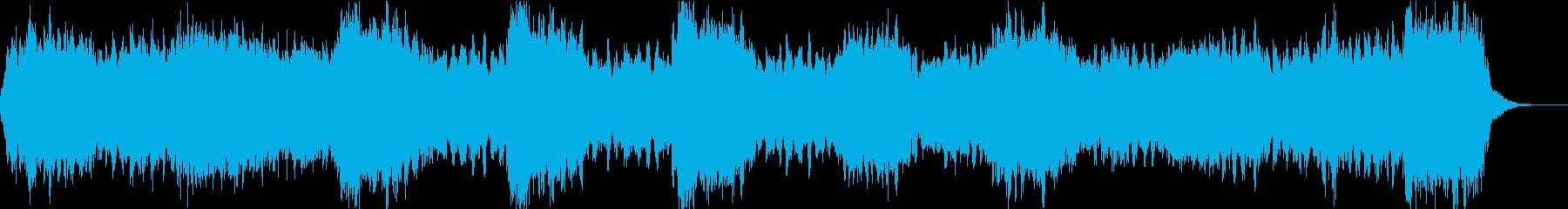 深海を感じさせるBGMの再生済みの波形