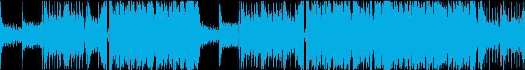 異空間バトルBGMの再生済みの波形