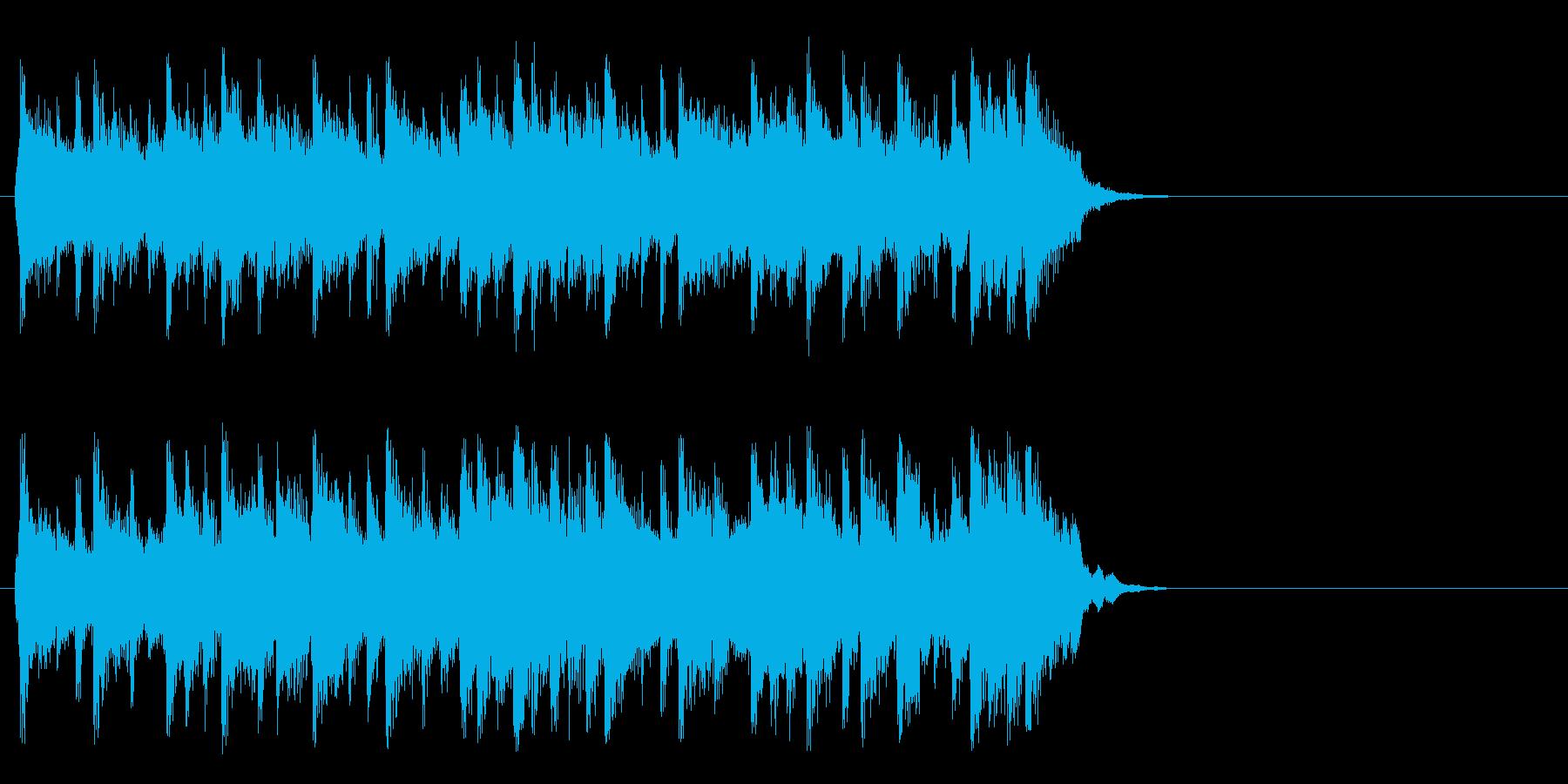 ポップ アコースティック(サビ)の再生済みの波形