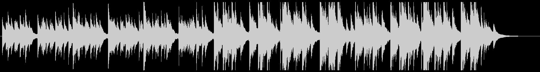 シロツメクサの未再生の波形