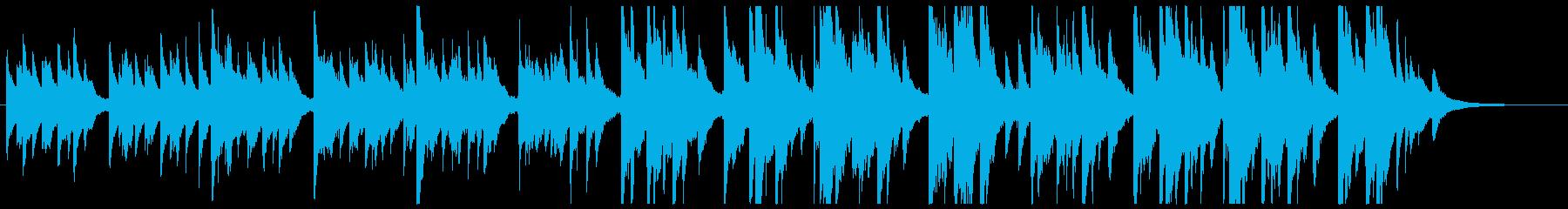 シロツメクサの再生済みの波形