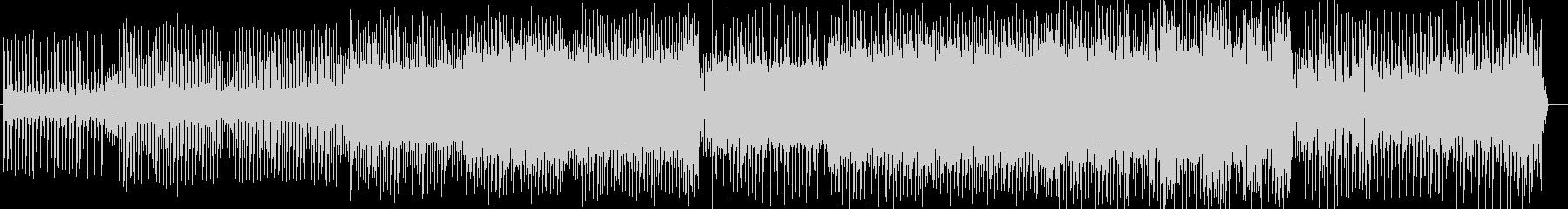 キャッチーなテクノサウンドの未再生の波形