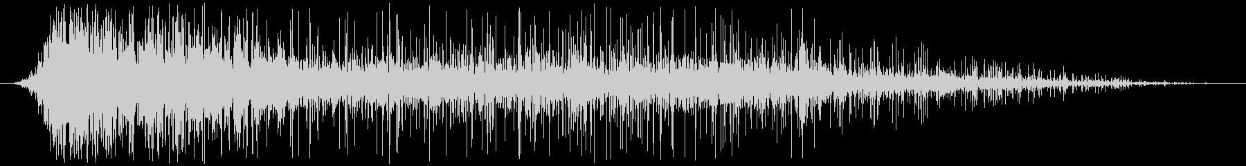 ヘビーファイアバーストとクラックルバーンの未再生の波形
