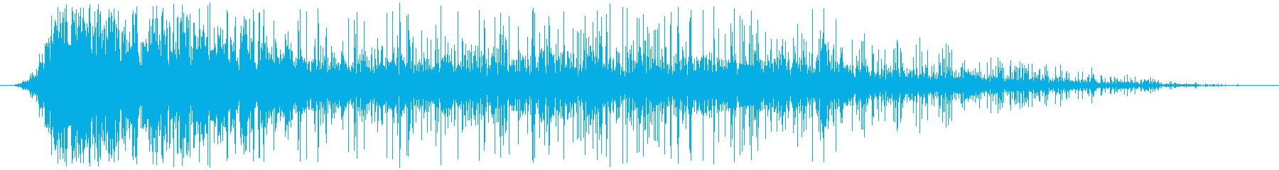 ヘビーファイアバーストとクラックルバーンの再生済みの波形