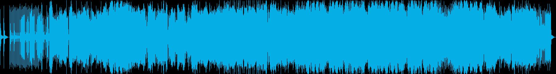 おしゃれなエレクトロですの再生済みの波形