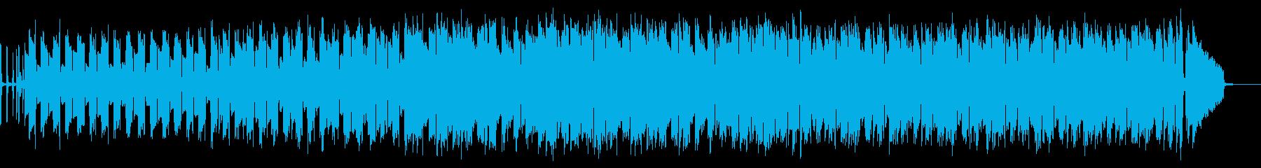 エレピとギターのシンプルなジャズの楽曲の再生済みの波形