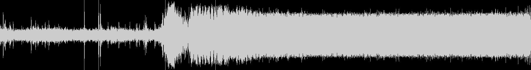 小型飛行機(セスナ)の始動音(アラスカ)の未再生の波形