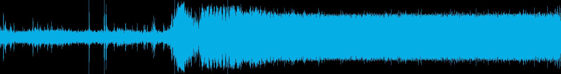 小型飛行機(セスナ)の始動音(アラスカ)の再生済みの波形