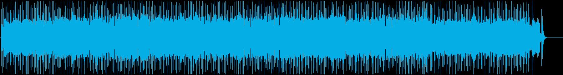 熱く燃えたぎるような疾走感のハードロックの再生済みの波形