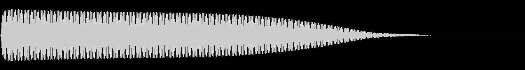 選択音 決定音 シンプル A02の未再生の波形