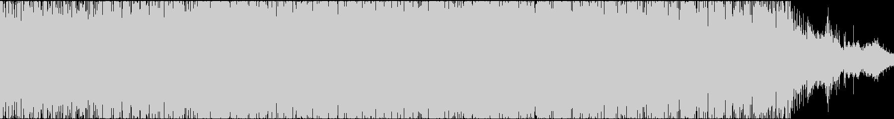 電子楽器。渦巻く催眠効果のある風変...の未再生の波形