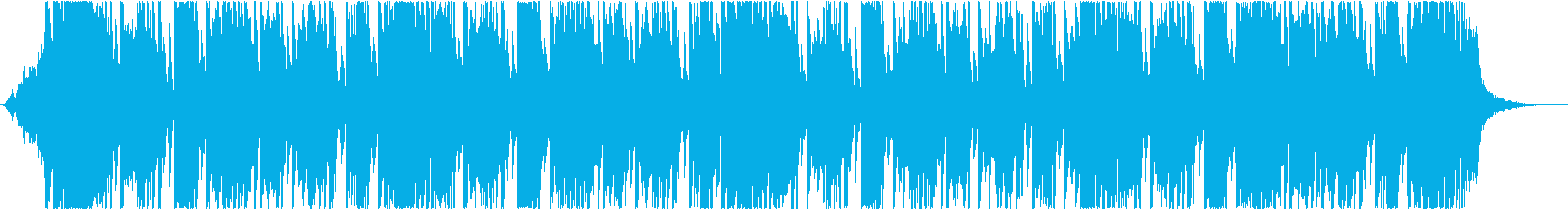 ヒップホップ、トラップ、パワフルの再生済みの波形