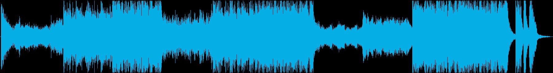 魔王登場!不気味で重厚なBGMの再生済みの波形