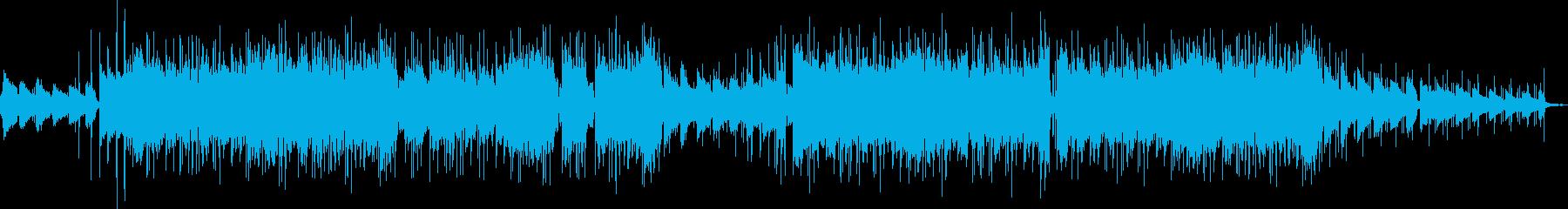 メロウなLo-fi HipHop風の再生済みの波形