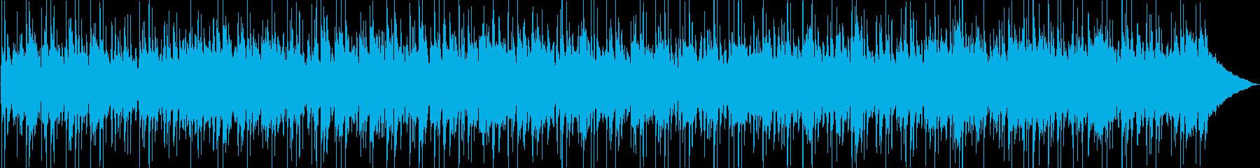 アコースティックなカントリーロックBGMの再生済みの波形