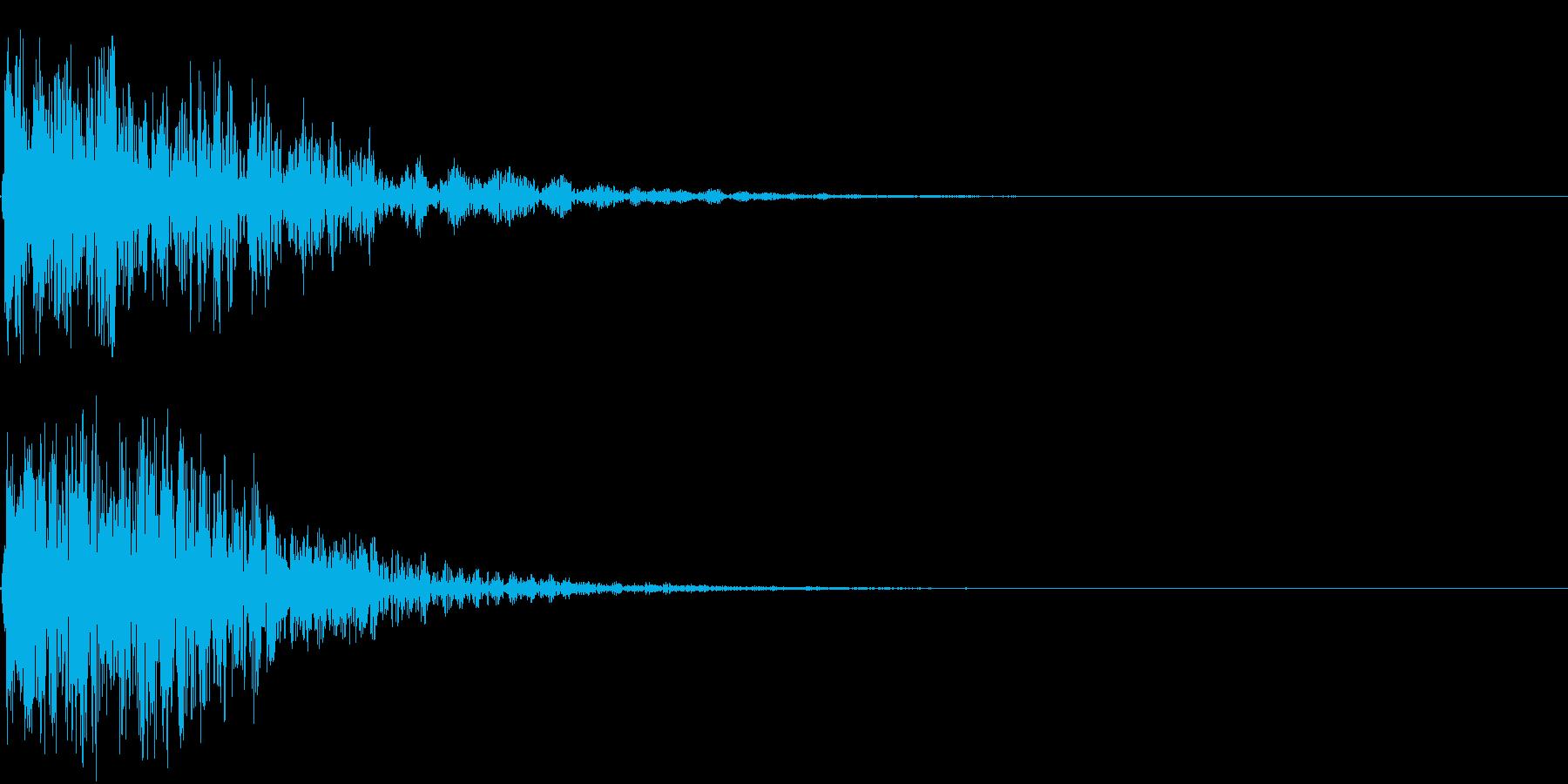 【インパクト】チャンッッッ!!の再生済みの波形