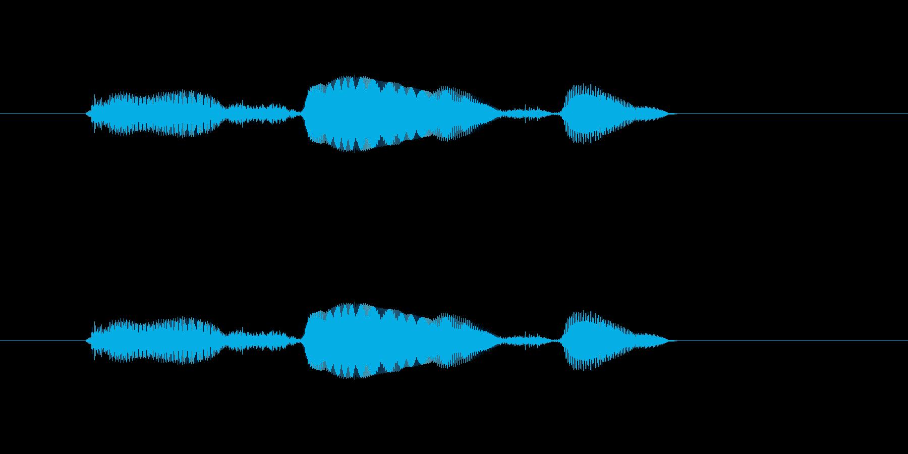 2(女の子) オヤスミナサイ (キュートの再生済みの波形