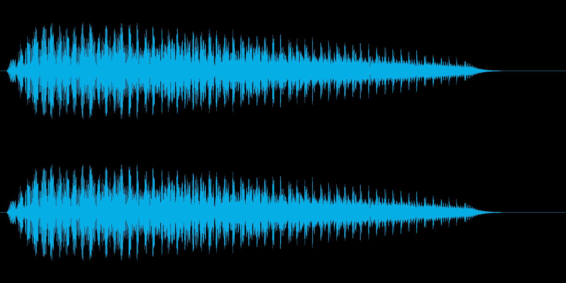 シャララ(エネルギー・ボリュームアップ)の再生済みの波形
