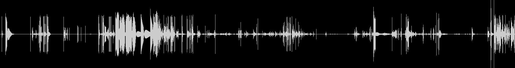 ホットタッチのノイズ素材ですの未再生の波形