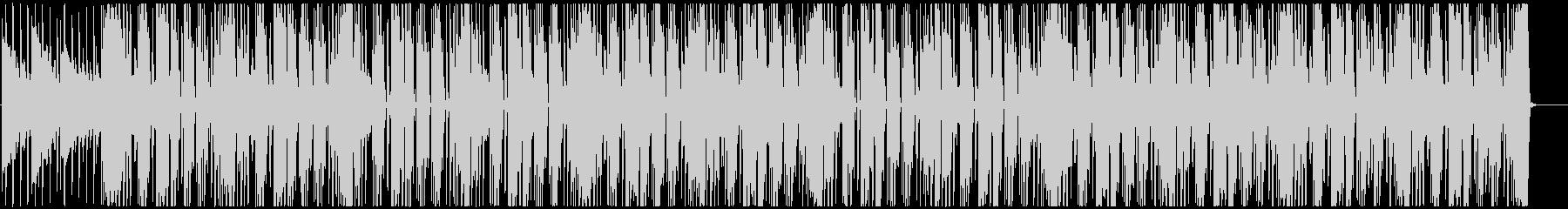 レゲエ サックスがリードするハートビートの未再生の波形