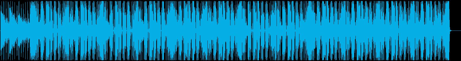 レゲエ サックスがリードするハートビートの再生済みの波形
