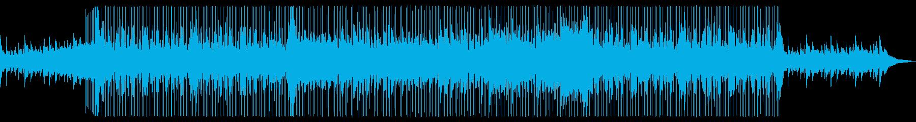 夏らしく爽やかなBGMですの再生済みの波形