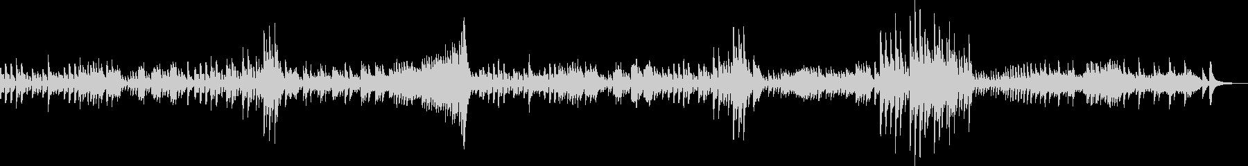 ベートーヴェンピアノソナタ第二番第二章の未再生の波形
