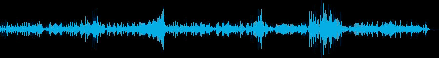 ベートーヴェンピアノソナタ第二番第二章の再生済みの波形