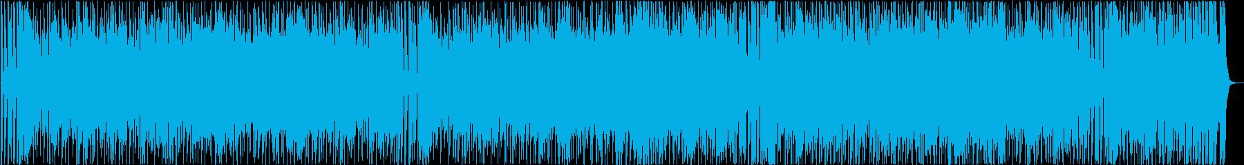 明るいポジティブレトロツイストの再生済みの波形