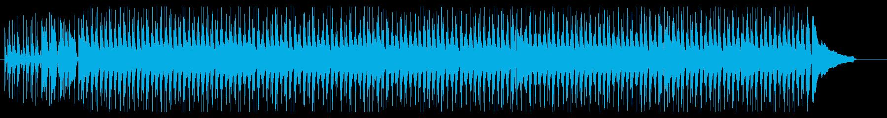 明るく軽快な沖縄曲/観光/旅行/三線の再生済みの波形