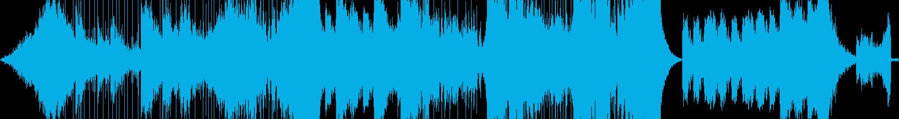 巨大なドラムンベースのパーカッショ...の再生済みの波形