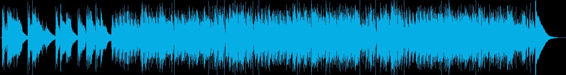 切ないバラード、波止場の再生済みの波形