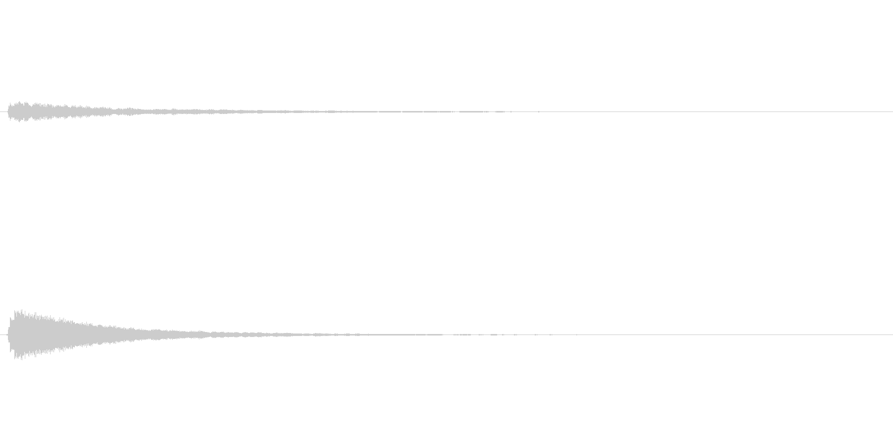 サウンドロゴ(企業ロゴ)_014の未再生の波形