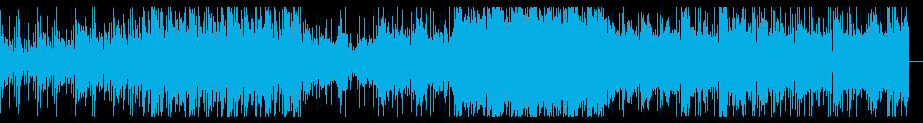 陰鬱でサスペンシブなアンビエントの再生済みの波形