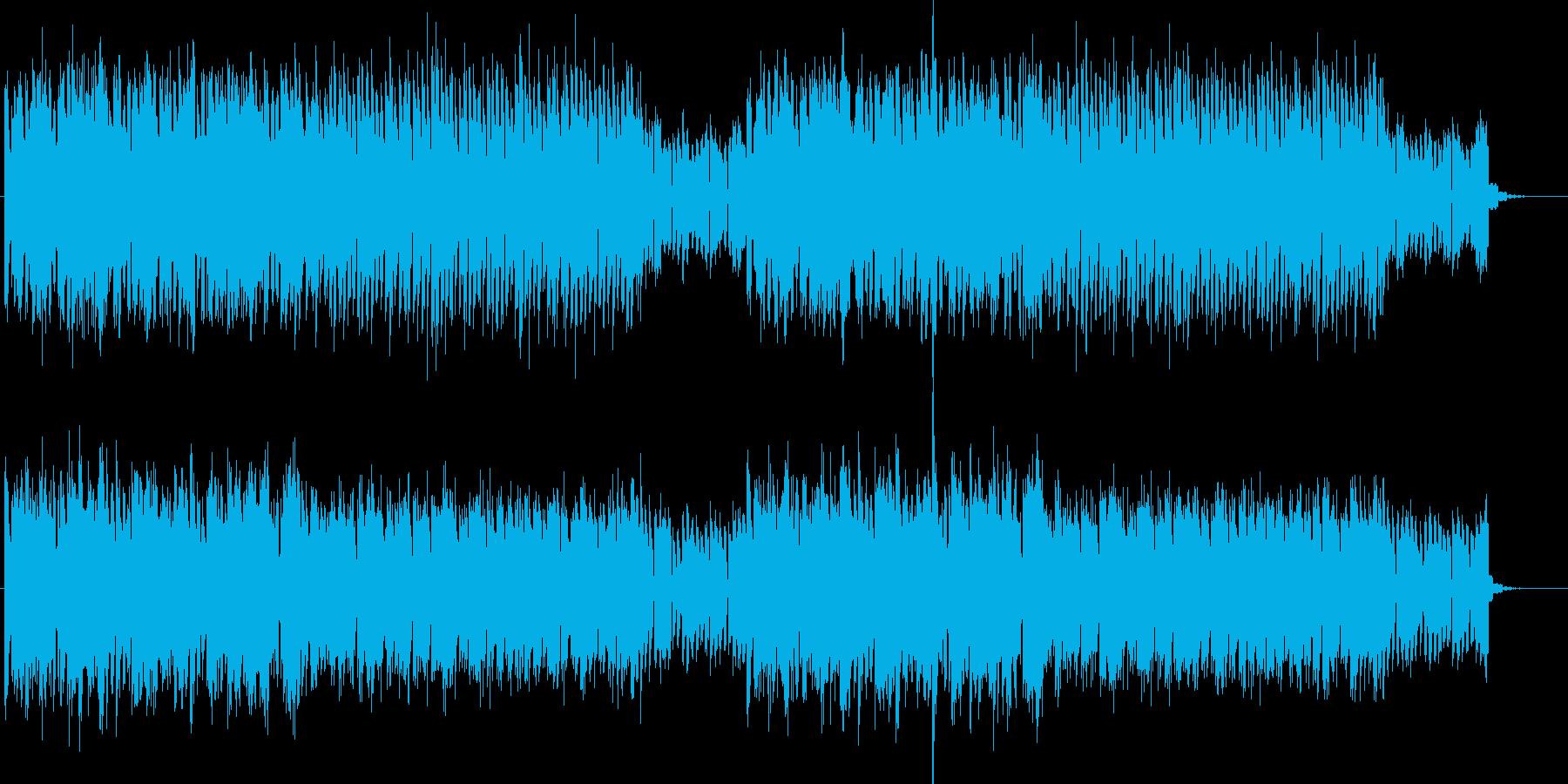 リズミカルなぷるぷるシンセサイザーの再生済みの波形