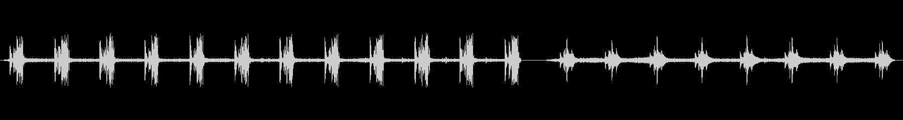 スチールプレス、WHIRL、CLA...の未再生の波形