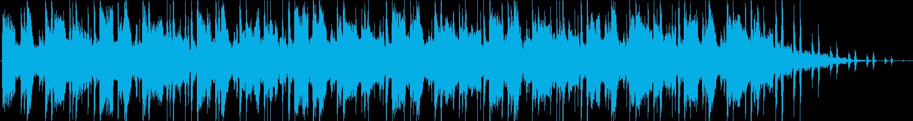 シーケンス 未定ベース02の再生済みの波形