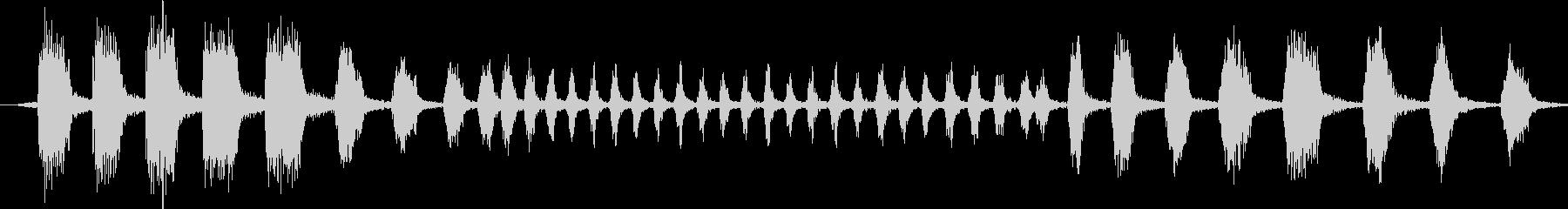 クッカバラ:ボーカルコール、バードの未再生の波形