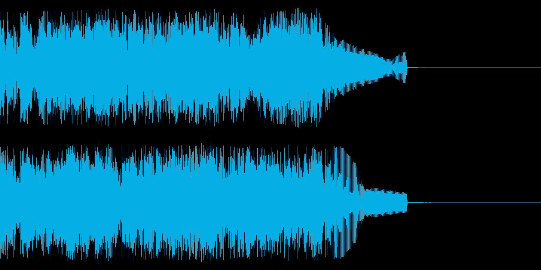 完了時の再生済みの波形