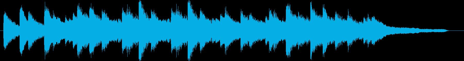 おしゃれなジャズ バラード ジングルの再生済みの波形