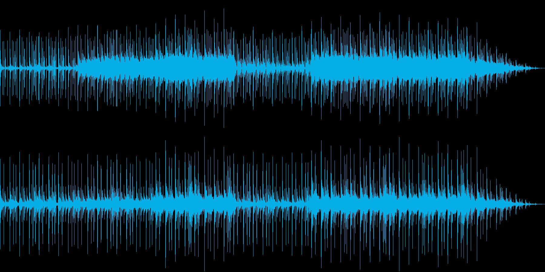 ほのぼのした雰囲気のR&B調サウンドの再生済みの波形