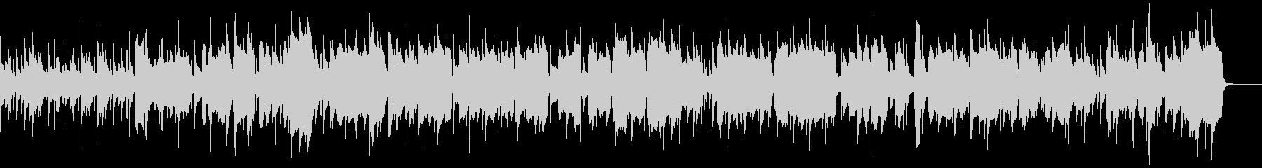 アルトサックスによる妖艶なジャズナンバーの未再生の波形