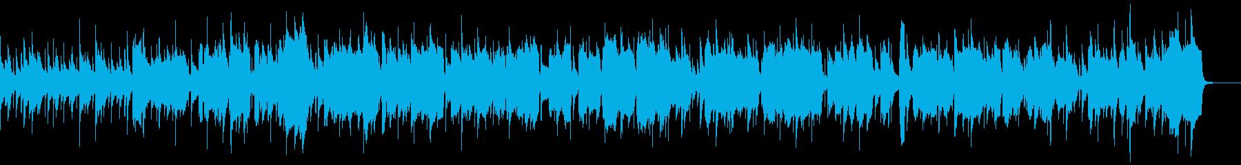 アルトサックスによる妖艶なジャズナンバーの再生済みの波形