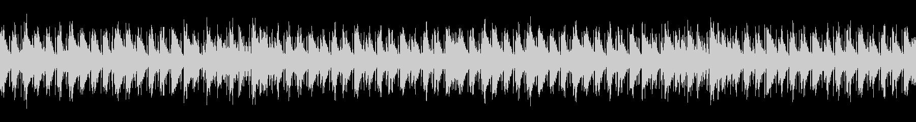 音があまり気にならないオシャレなBGMの未再生の波形