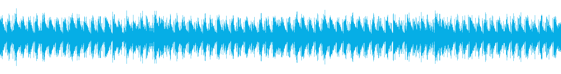 音があまり気にならないオシャレなBGMの再生済みの波形
