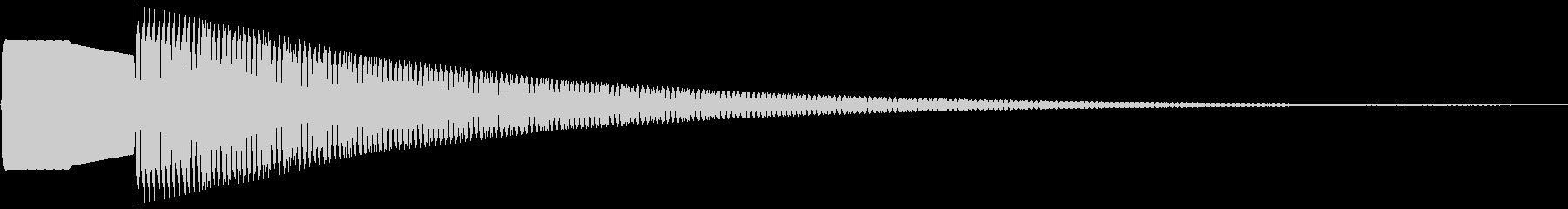 クイズに使えそうな呼び出し音の未再生の波形