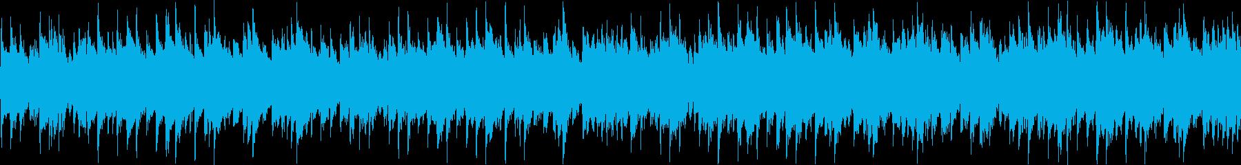 温かい雰囲気のバラードBGM(ループ)の再生済みの波形