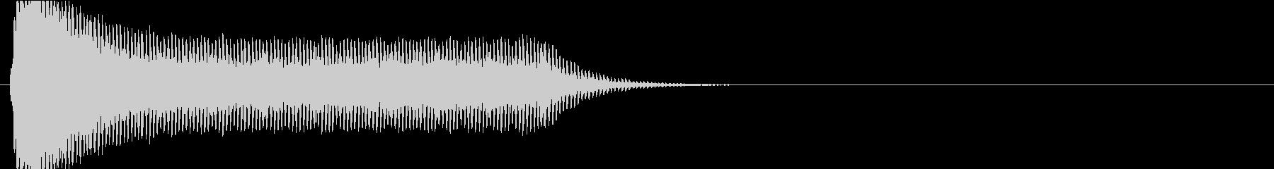 スタンガンの音01、電気の切れそうな音の未再生の波形